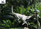 Static Sponge Large Animal Lawn Ornaments , Simulation Velociraptor Life Size Model