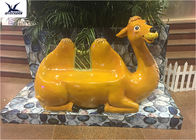 Shopping Mall Indoor 2 Meters Long Fiberglass Cartoon Animals Shape Seat Statues