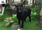 Animal Garden Ornaments , Life Size Animatronic Animal Statues With Fur