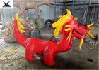 Cartoon Traditional Dragon Toy Car Kiddie Rides Game Center Motorized Scooters