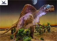 Indoor Realistic Dinosaur Models Walking / Laying Eggs / Fingers Moving