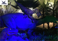 Animatronic Realistic Light Giant Dinosaur Model For Indoor Decoration