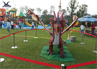 Amusement Equipment Dinosaur Lawn Statue Facility Lawn Artificial Dragon Statues