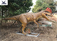 Realistic Silicone Life Size Model Dinosaurs , Forest Dinosaur Garden Ornaments