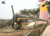 Robotic Animal Outdoor Dinosaur , Animatronic Brachiosaurus Dinosaur Lawn Decorations