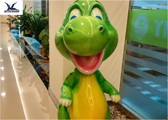 Playground Indoor Decorative Handmade Lovely Life Size Cartoon Fiberglass Statue