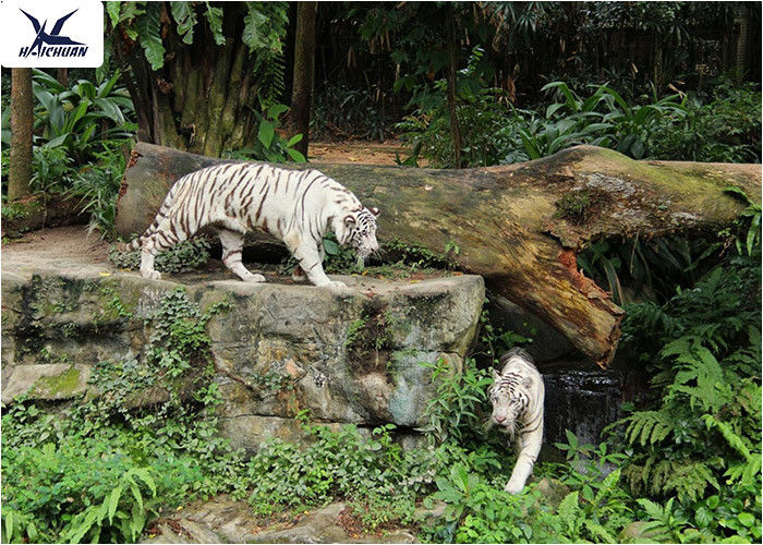 Decoration Lifelike Animatronic Animal Statues , Animal Customized Sculpture