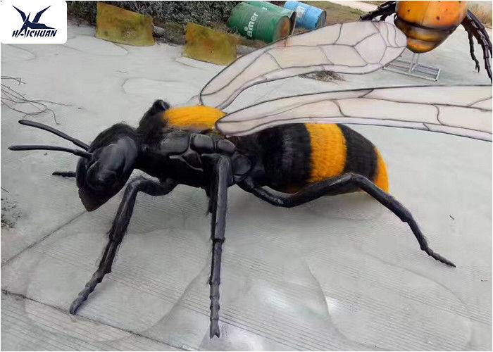 Playground Zoo Park Decorative Large Animatronic Animal Artificial Insects Models