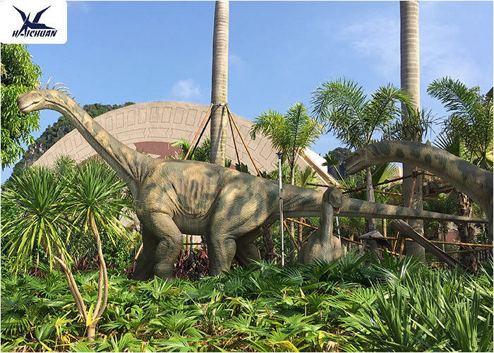 Realistic Full Size Dinosaur Lawn Decorations Artificial Moving Dinosaur Model