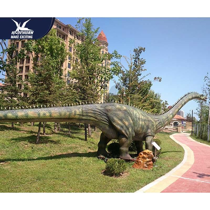 Waterproof Mechanical Realistic Dinosaur Models For Playground And Luna Park